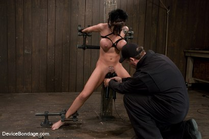 Photo number 9 from Mason Moore<br>Huge Tits, Huge Orgasms. shot for Device Bondage on Kink.com. Featuring Mason Moore in hardcore BDSM & Fetish porn.