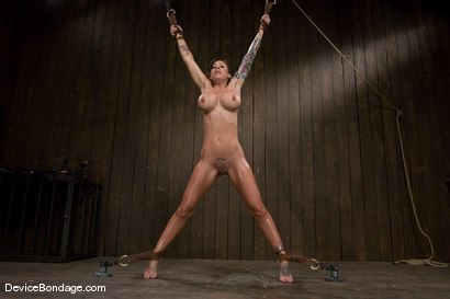 Photo number 14 from Mason Moore<br>Booming Body from Hell! shot for Device Bondage on Kink.com. Featuring Mason Moore in hardcore BDSM & Fetish porn.