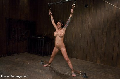 Photo number 3 from Mason Moore<br>Booming Body from Hell! shot for Device Bondage on Kink.com. Featuring Mason Moore in hardcore BDSM & Fetish porn.