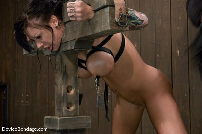 Photo number 6 from Mason Moore<br>Spicy Latina tamed. shot for Device Bondage on Kink.com. Featuring Mason Moore in hardcore BDSM & Fetish porn.