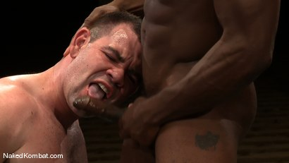 Photo number 13 from Dak Ramsey vs Race Cooper shot for Naked Kombat on Kink.com. Featuring Race Cooper and Dak Ramsey in hardcore BDSM & Fetish porn.