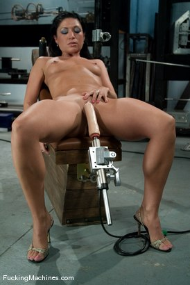 Photo number 2 from AMATEUR GIRL FRIDAYS  Charolette shot for Fucking Machines on Kink.com. Featuring Charolette Bloom in hardcore BDSM & Fetish porn.