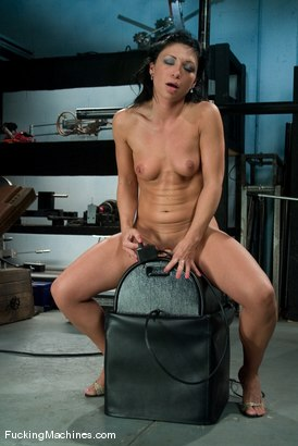 Photo number 14 from AMATEUR GIRL FRIDAYS  Charolette shot for Fucking Machines on Kink.com. Featuring Charolette Bloom in hardcore BDSM & Fetish porn.