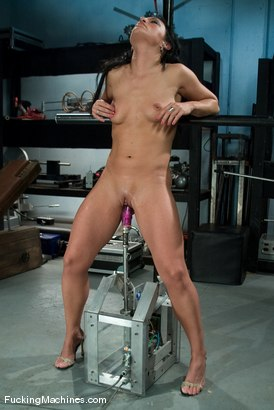 Photo number 8 from AMATEUR GIRL FRIDAYS  Charolette shot for Fucking Machines on Kink.com. Featuring Charolette Bloom in hardcore BDSM & Fetish porn.