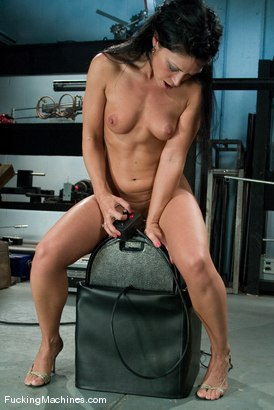 Photo number 12 from AMATEUR GIRL FRIDAYS <br> Charolette shot for Fucking Machines on Kink.com. Featuring Charolette Bloom in hardcore BDSM & Fetish porn.