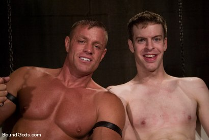 Photo number 15 from Ben shot for Bound Gods on Kink.com. Featuring Ben Deep and Tyler Saint in hardcore BDSM & Fetish porn.