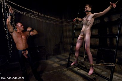 Photo number 7 from Ben shot for Bound Gods on Kink.com. Featuring Ben Deep and Tyler Saint in hardcore BDSM & Fetish porn.