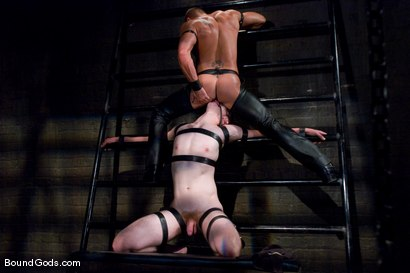 Photo number 10 from Ben shot for Bound Gods on Kink.com. Featuring Ben Deep and Tyler Saint in hardcore BDSM & Fetish porn.