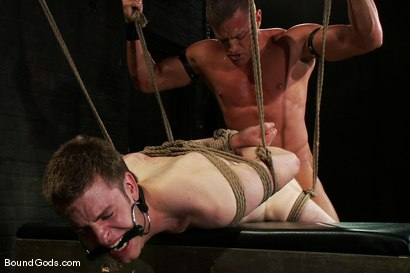 Photo number 14 from Ben shot for Bound Gods on Kink.com. Featuring Ben Deep and Tyler Saint in hardcore BDSM & Fetish porn.