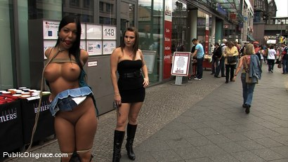Photo number 5 from BEST OF EUROPE: Angelica Heart Big Tits, Public Bondage, & Humiliation shot for Public Disgrace on Kink.com. Featuring Harmony, Zenza Raggi and Angelica Heart in hardcore BDSM & Fetish porn.