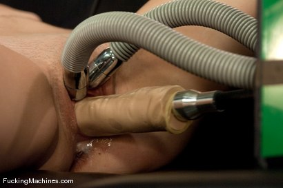 Photo number 8 from Summer intern - Erin Taylor shot for Fucking Machines on Kink.com. Featuring Erin Taylor in hardcore BDSM & Fetish porn.