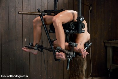 Photo number 3 from Felony<br> Who bends like that? shot for Device Bondage on Kink.com. Featuring Felony in hardcore BDSM & Fetish porn.