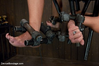Photo number 5 from Felony<br> Who bends like that? shot for Device Bondage on Kink.com. Featuring Felony in hardcore BDSM & Fetish porn.