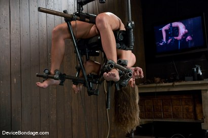 Photo number 11 from Felony<br> Who bends like that? shot for Device Bondage on Kink.com. Featuring Felony in hardcore BDSM & Fetish porn.