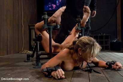 Photo number 6 from Felony   Big titted MILF helpless and squirting. shot for Device Bondage on Kink.com. Featuring Felony in hardcore BDSM & Fetish porn.