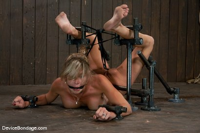Photo number 13 from Felony <br> Big titted MILF helpless and squirting.   shot for Device Bondage on Kink.com. Featuring Felony in hardcore BDSM & Fetish porn.