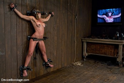 Photo number 7 from Orgasmed to near unconsciousness -<br>-Countdown to Relaunch - 9 of 20 shot for Device Bondage on Kink.com. Featuring Felony in hardcore BDSM & Fetish porn.