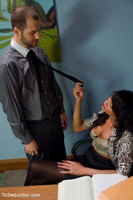 Photo number 1 from Yasmin Lee - Pro bono shot for TS Seduction on Kink.com. Featuring David Chase and Yasmin Lee in hardcore BDSM & Fetish porn.