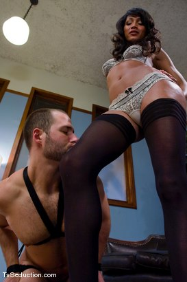 Photo number 4 from Yasmin Lee - Pro bono shot for TS Seduction on Kink.com. Featuring David Chase and Yasmin Lee in hardcore BDSM & Fetish porn.