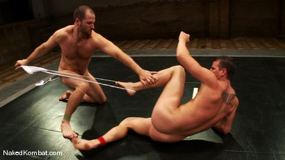 Photo number 4 from Rusty Stevens vs David Chase shot for Naked Kombat on Kink.com. Featuring David Chase and Rusty Stevens in hardcore BDSM & Fetish porn.
