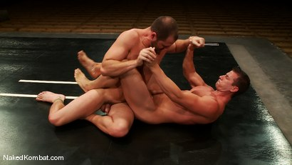 Photo number 10 from Rusty Stevens vs David Chase shot for Naked Kombat on Kink.com. Featuring David Chase and Rusty Stevens in hardcore BDSM & Fetish porn.