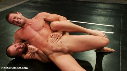 Photo number 11 from Rusty Stevens vs David Chase shot for Naked Kombat on Kink.com. Featuring David Chase and Rusty Stevens in hardcore BDSM & Fetish porn.