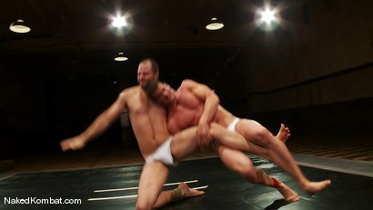 Photo number 2 from Rusty Stevens vs David Chase shot for Naked Kombat on Kink.com. Featuring David Chase and Rusty Stevens in hardcore BDSM & Fetish porn.