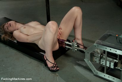 Photo number 8 from AMATEUR GIRL FRIDAYS <br> Eden shot for Fucking Machines on Kink.com. Featuring Eden Fairsea in hardcore BDSM & Fetish porn.