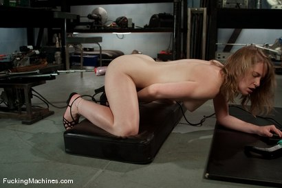Photo number 5 from AMATEUR GIRL FRIDAYS <br> Eden shot for Fucking Machines on Kink.com. Featuring Eden Fairsea in hardcore BDSM & Fetish porn.