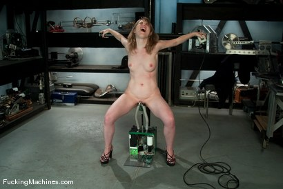Photo number 15 from AMATEUR GIRL FRIDAYS <br> Eden shot for Fucking Machines on Kink.com. Featuring Eden Fairsea in hardcore BDSM & Fetish porn.
