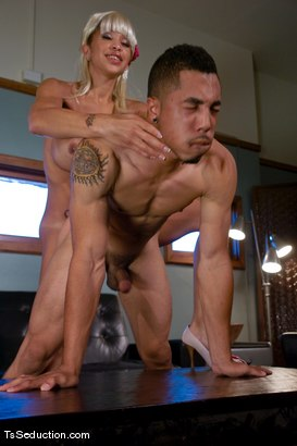 Photo number 10 from Jessica Host - going to the chapel shot for TS Seduction on Kink.com. Featuring Jessica Host and Antho in hardcore BDSM & Fetish porn.