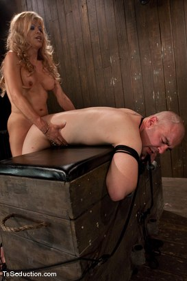 Photo number 14 from Johanna B - worshipped shot for TS Seduction on Kink.com. Featuring Johanna B and Tyler in hardcore BDSM & Fetish porn.