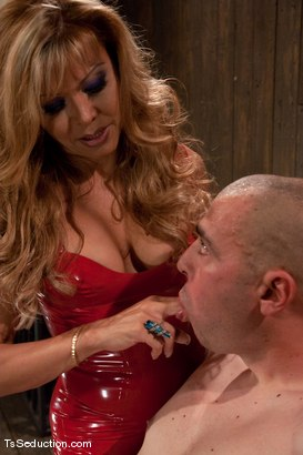 Photo number 3 from Johanna B - worshipped shot for TS Seduction on Kink.com. Featuring Johanna B and Tyler in hardcore BDSM & Fetish porn.