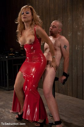 Photo number 5 from Johanna B - worshipped shot for TS Seduction on Kink.com. Featuring Johanna B and Tyler in hardcore BDSM & Fetish porn.