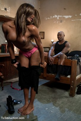 Photo number 3 from Introducing Amyiaa Diva shot for TS Seduction on Kink.com. Featuring Mistress Amyiaa and Jack Hammer in hardcore BDSM & Fetish porn.