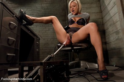 Photo number 2 from Jasmine Jolie - taking care of business shot for Fucking Machines on Kink.com. Featuring Jasmine Jolie in hardcore BDSM & Fetish porn.