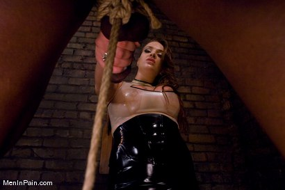 Photo number 4 from Goddess Nika Noire shot for Men In Pain on Kink.com. Featuring Nika Noire and Jack Hammer in hardcore BDSM & Fetish porn.