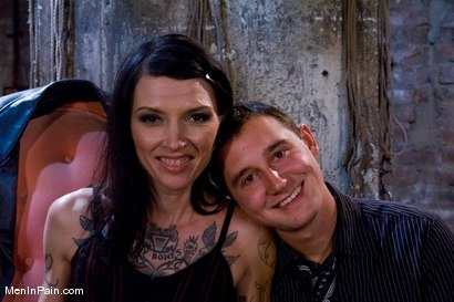 Photo number 2 from Serving Simone shot for Men In Pain on Kink.com. Featuring Simone Kross and Curt Wooster in hardcore BDSM & Fetish porn.