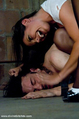 Photo number 3 from Psycho Bitch shot for Divine Bitches on Kink.com. Featuring Bobbi Starr and Kade in hardcore BDSM & Fetish porn.