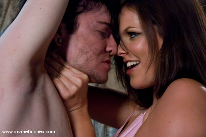 Photo number 5 from Psycho Bitch shot for Divine Bitches on Kink.com. Featuring Bobbi Starr and Kade in hardcore BDSM & Fetish porn.