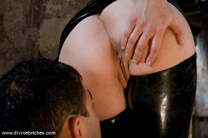 Photo number 12 from Who's the Little Bitch Now? shot for Divine Bitches on Kink.com. Featuring Maitresse Madeline Marlowe  and Rico in hardcore BDSM & Fetish porn.