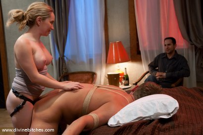 Photo number 15 from Cuckold Wedding shot for Divine Bitches on Kink.com. Featuring Danny Wylde and Aiden Starr in hardcore BDSM & Fetish porn.