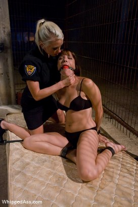 Photo number 2 from Prison Slave shot for Whipped Ass on Kink.com. Featuring Maitresse Madeline Marlowe , Dana DeArmond and Lorelei Lee in hardcore BDSM & Fetish porn.