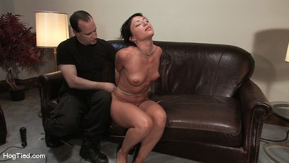 Photo number 12 from Amateur Casting Couch 22: Charolette is insatiable!  shot for Hogtied on Kink.com. Featuring Charolette Bloom in hardcore BDSM & Fetish porn.
