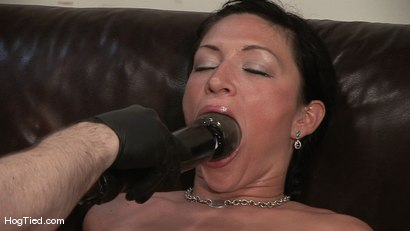 Photo number 6 from Amateur Casting Couch 22: Charolette is insatiable!  shot for Hogtied on Kink.com. Featuring Charolette Bloom in hardcore BDSM & Fetish porn.