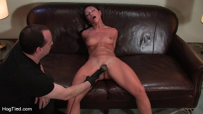 Photo number 7 from Amateur Casting Couch 22: Charolette is insatiable!  shot for Hogtied on Kink.com. Featuring Charolette Bloom in hardcore BDSM & Fetish porn.