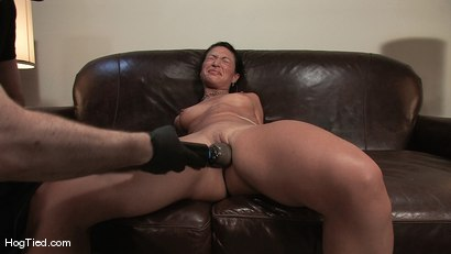 Photo number 8 from Amateur Casting Couch 22: Charolette is insatiable!  shot for Hogtied on Kink.com. Featuring Charolette Bloom in hardcore BDSM & Fetish porn.