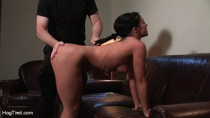 Photo number 1 from Amateur Casting Couch 22: Charolette is insatiable!  shot for Hogtied on Kink.com. Featuring Charolette Bloom in hardcore BDSM & Fetish porn.