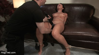 Photo number 11 from Amateur Casting Couch 22: Charolette is insatiable!  shot for Hogtied on Kink.com. Featuring Charolette Bloom in hardcore BDSM & Fetish porn.