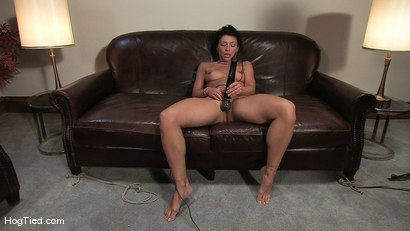 Photo number 13 from Amateur Casting Couch 22: Charolette is insatiable!  shot for Hogtied on Kink.com. Featuring Charolette Bloom in hardcore BDSM & Fetish porn.